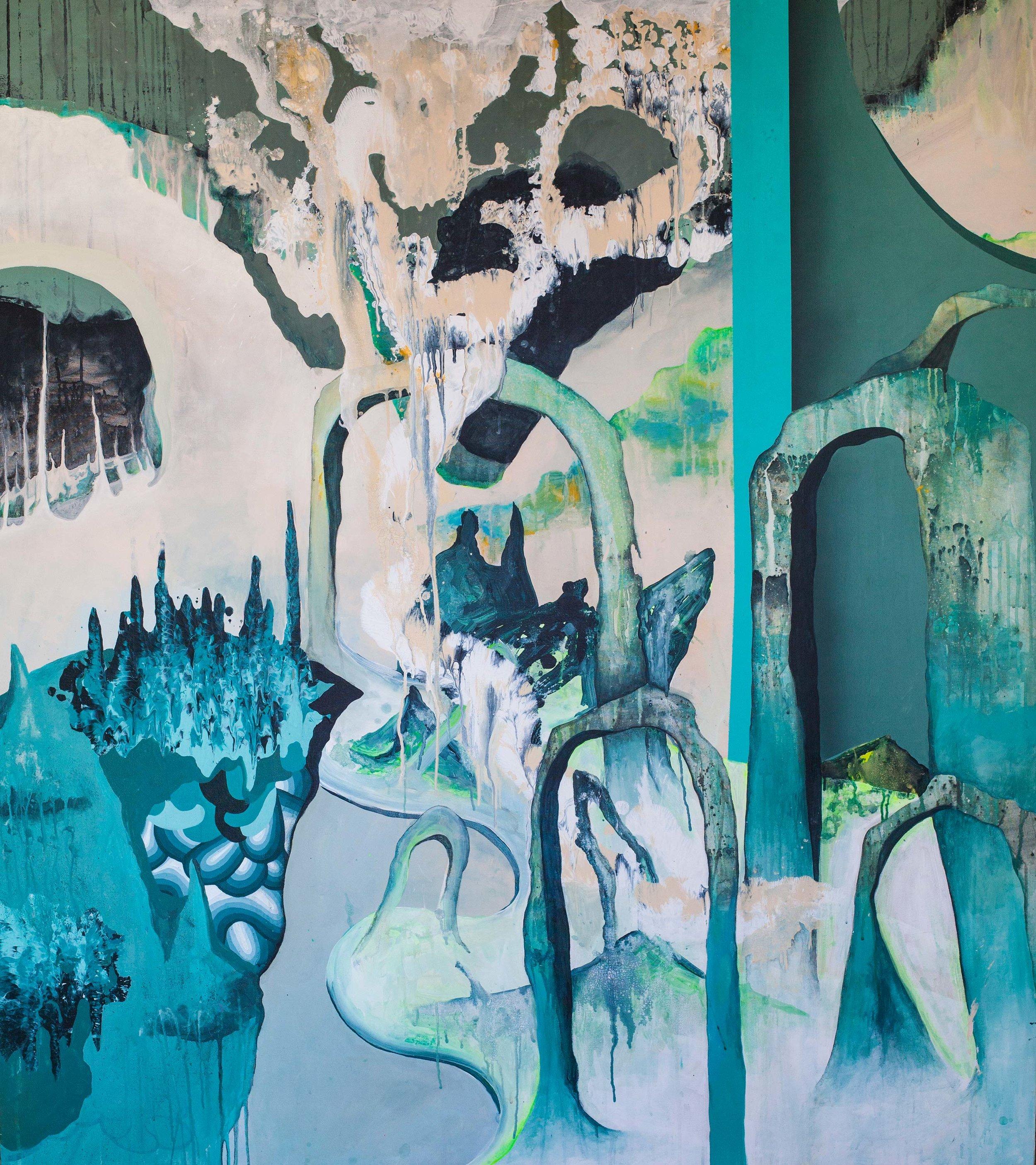 Acrylic on canvas. 165 x 145 cm