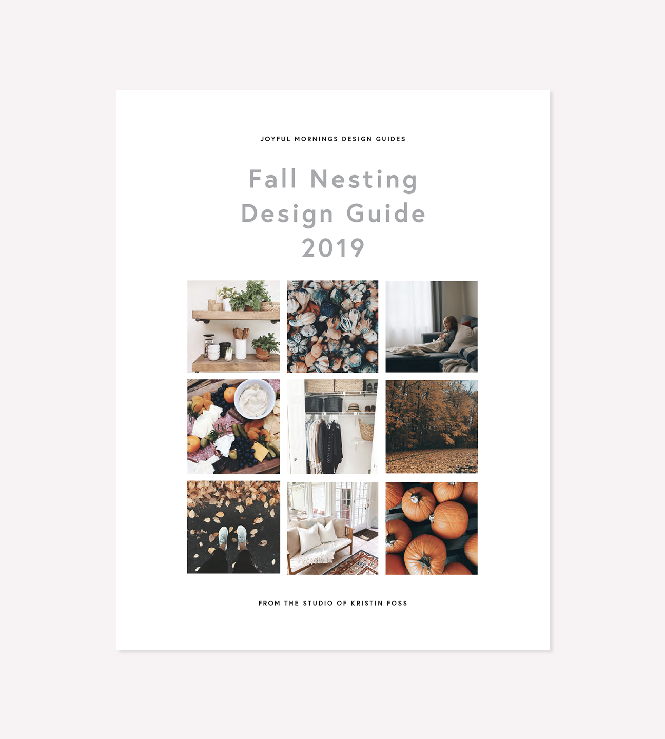 The Fall Nesting Guide - The Fall Nesting Design Guide is a comprehensive manual to get you jump started into your fall nesting.What's included:A guide to my favorite fall color palettes + textures and how I use color and texture to create a cohesive designA vision board page + design worksheet to help you create your own color palette and texture list for your fall home designThe #fallnestingchallenge planner pagesFour bonus prints to get started on creating a cozy fall nest