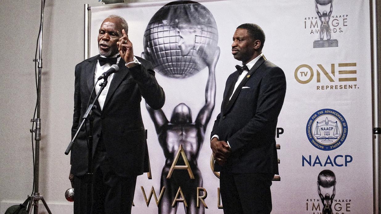 MR. DANNY GLOVER  RECIPIENT NAACP PRESIDENTS AWARD II