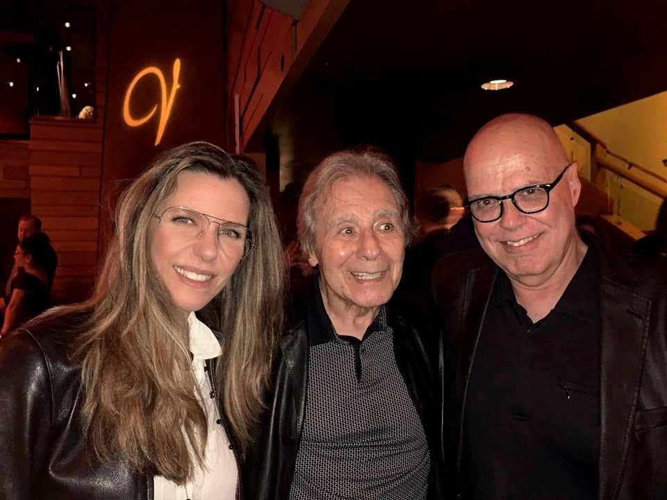 With Lalo Schifrin and husband Bob Sheppard