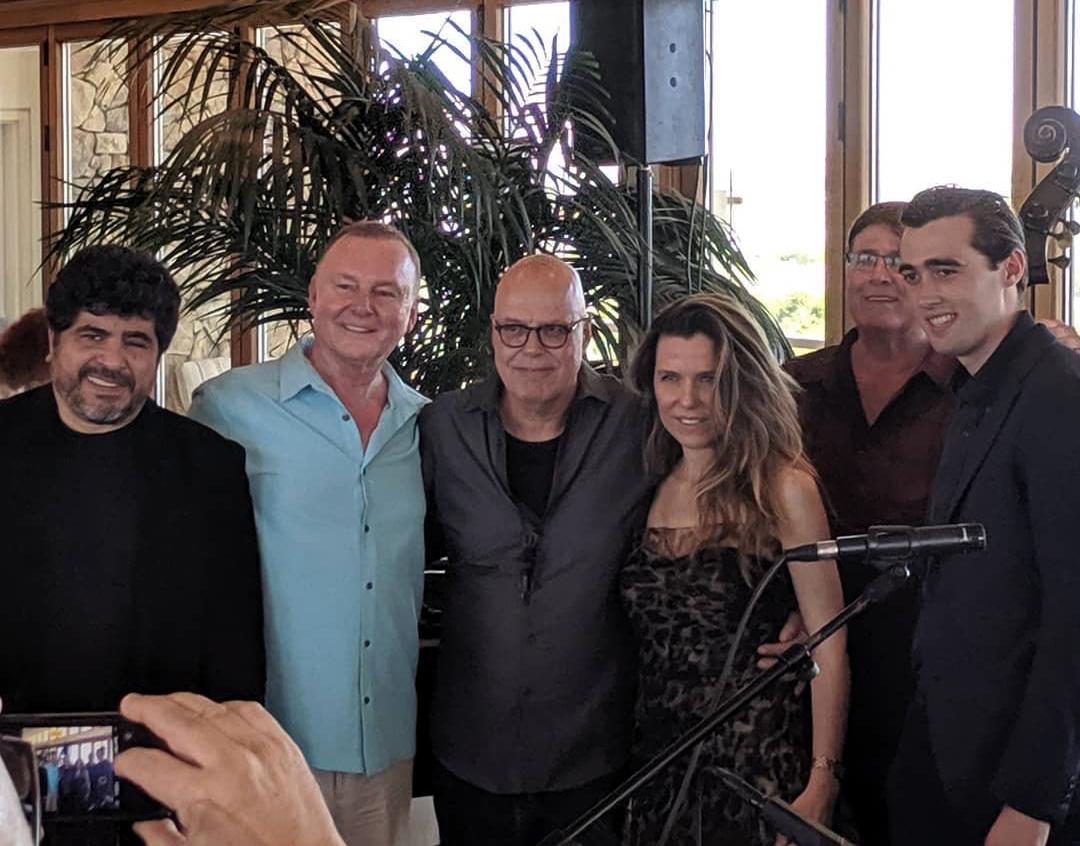 Fantasy Springs Casino, Indio, CA - Otmaro Ruiz-Paul MacKey-Bob Sheppard-Maria-Larry Holloway-Conor Malloy