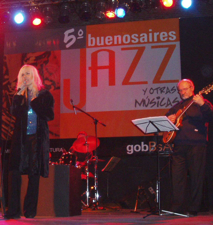 5 Festival Buenos Aires Jazz y Otras Musicas, organized by Buenos Aires' City Government, May 2006
