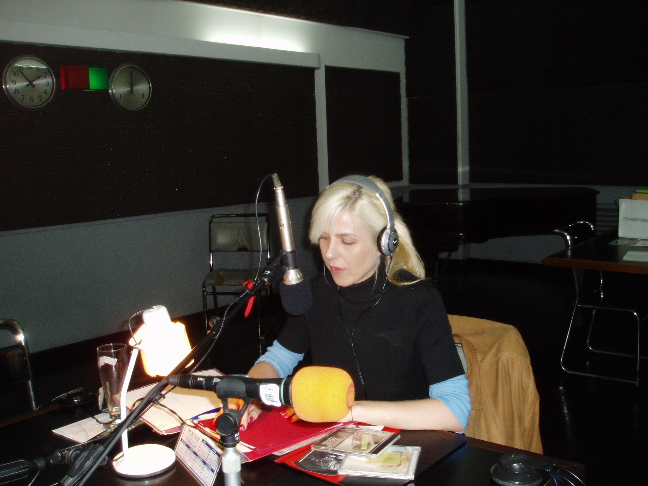 Interviewed at NPR Argentina, 2006