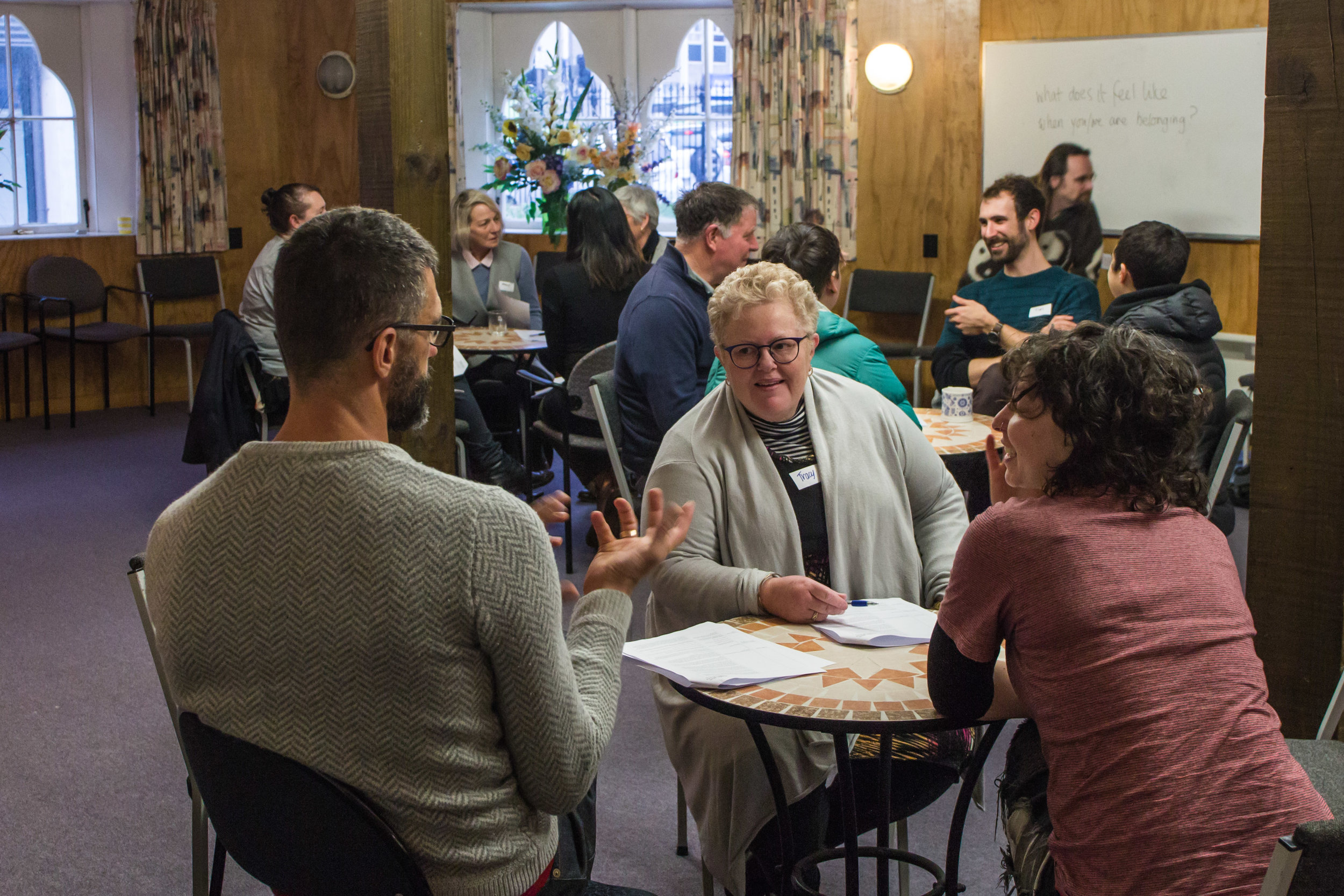 Host a conversation in your neighbourhood - Wellington Conversations is always open to connecting new neighbourhoods and communities. If you'd like to help get some Wellington Conversations events happening in your neighbourhood, or if you have a venue that may be suitable, we'd love to hear from you.