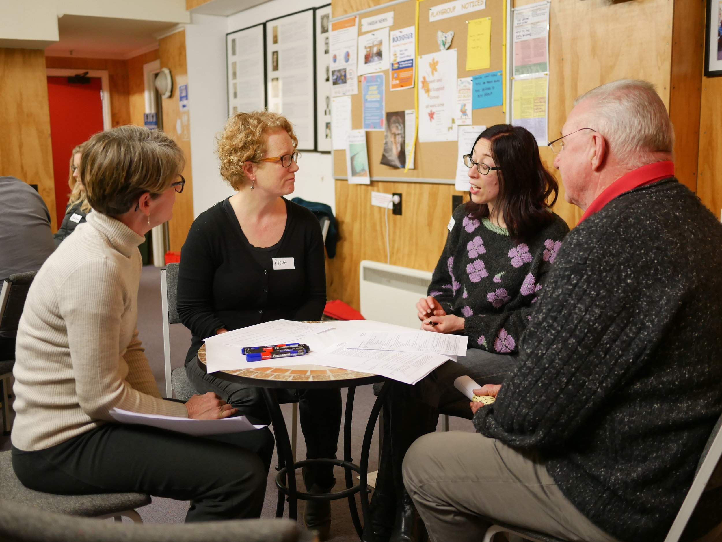 Become a conversation facilitator - Wellington Conversations events are facilitated by local volunteers. They work together in teams to host events in their communities, enabling connection and guiding conversations to be safe, supported and meaningful.