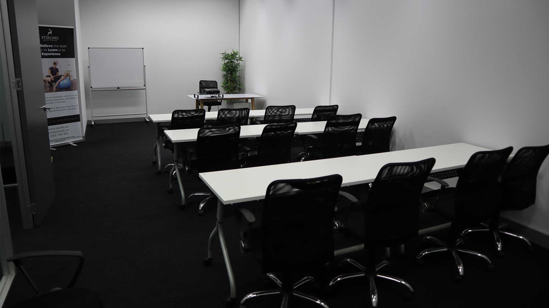 Classroom - Ground Floor - Exceptional, recently renovated classroom on the Ground Floor in the heart of Melbourne's CBD, Southbank. Comfortably seating 20 with use of:- 9B Classification- WIFI Internet- Whiteboard and markers- Projector- Use of shared kitchen spaceClassroom Ground Floor $350 per day plus GST