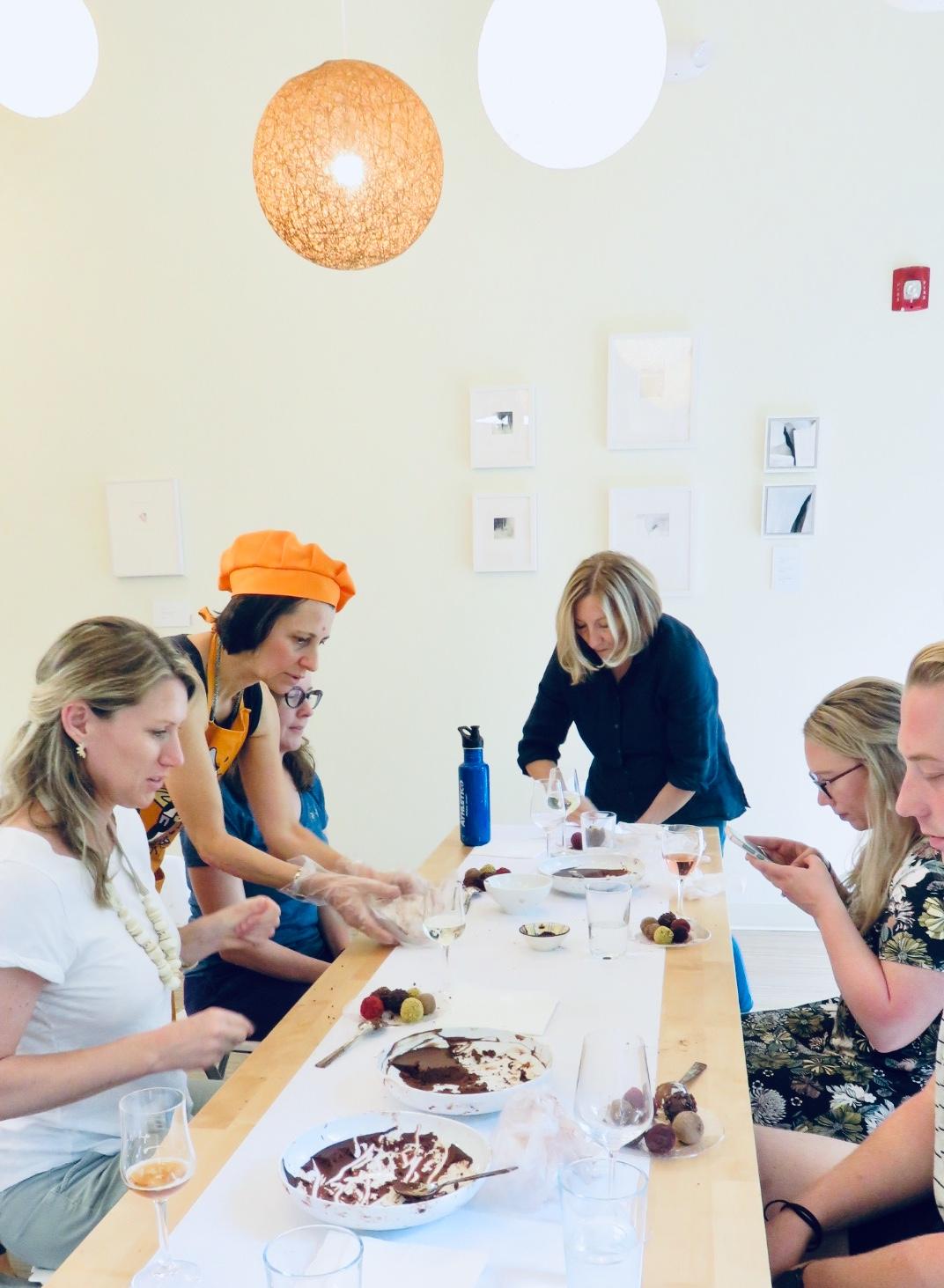 Truffle and Bubbles - Truffle Making Class