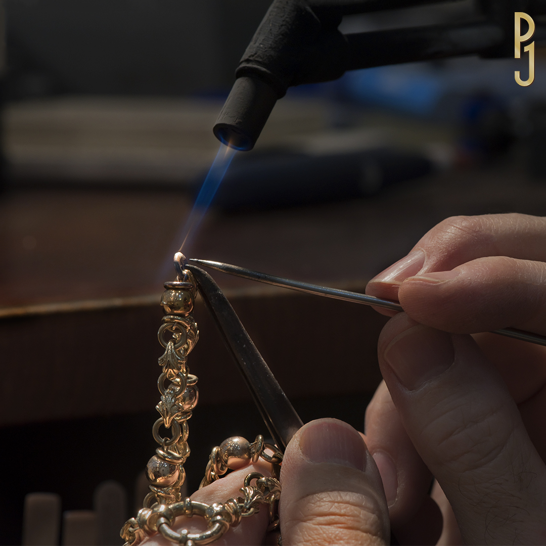 Chain & Bracelet Repairs - Rejoining of broken chains, replacing clasps and soldering charms are all services personally done by Philip in-store.