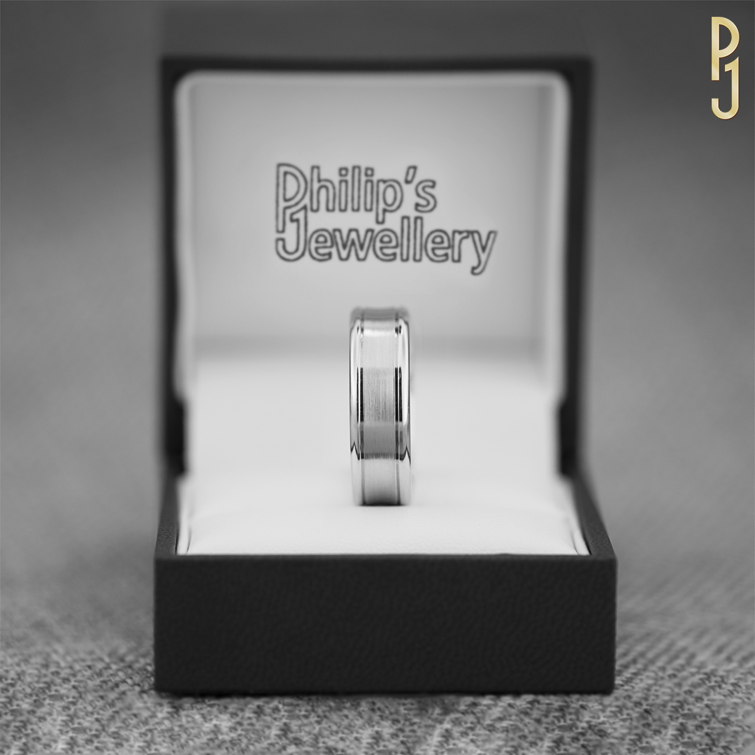 HIS WEDDING RING - There are so many styles available.Discover more in-store.
