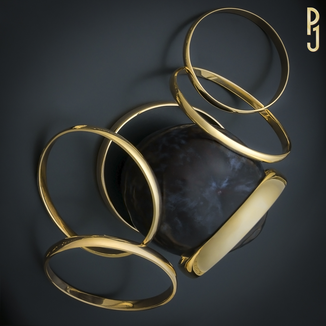 SOLID GOLD BANGLE - Up-cycle your gold jewellery. Philip can hand-make a solid gold bangle for you using your old or un-wanted gold jewellery. The perfect size to suit you.
