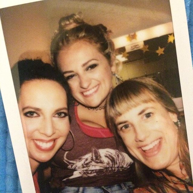 Lovers of life!  Every one of 'em!! #oklahomabroadway #polaroidsnaps #starry #capturingthemoments!