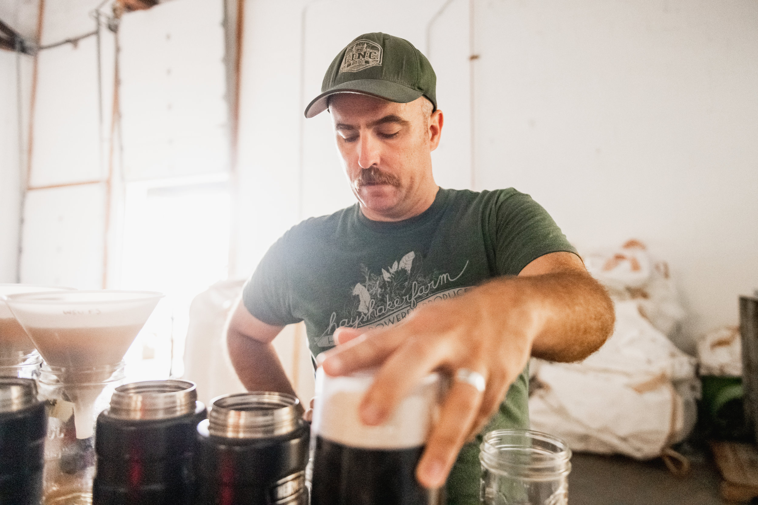 Tasting craft malt differences in a hot steep or wort