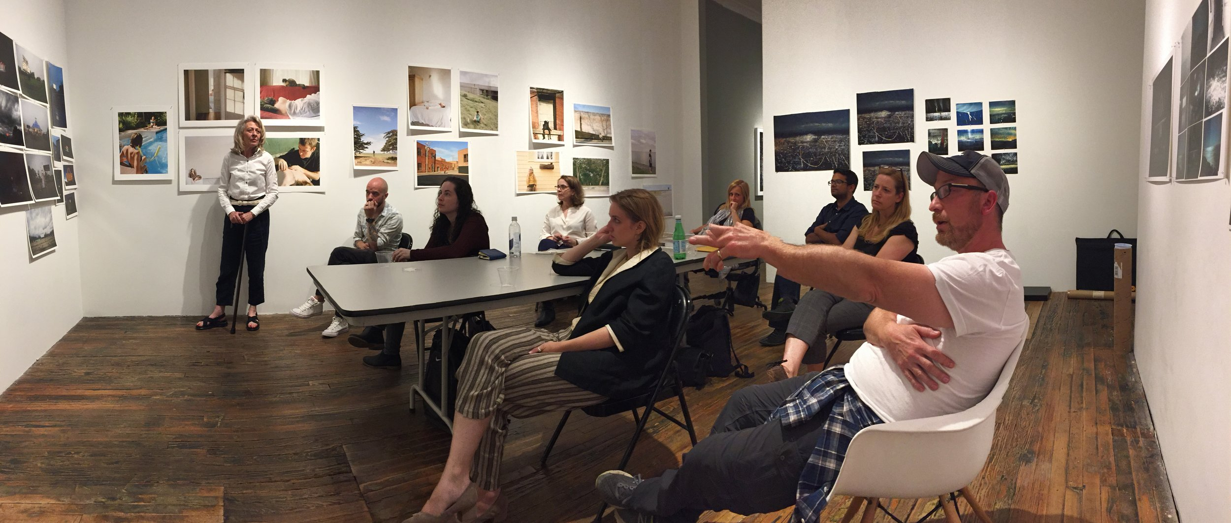 Martine Fougeron  reviews photographs from the Exhibition Lab.