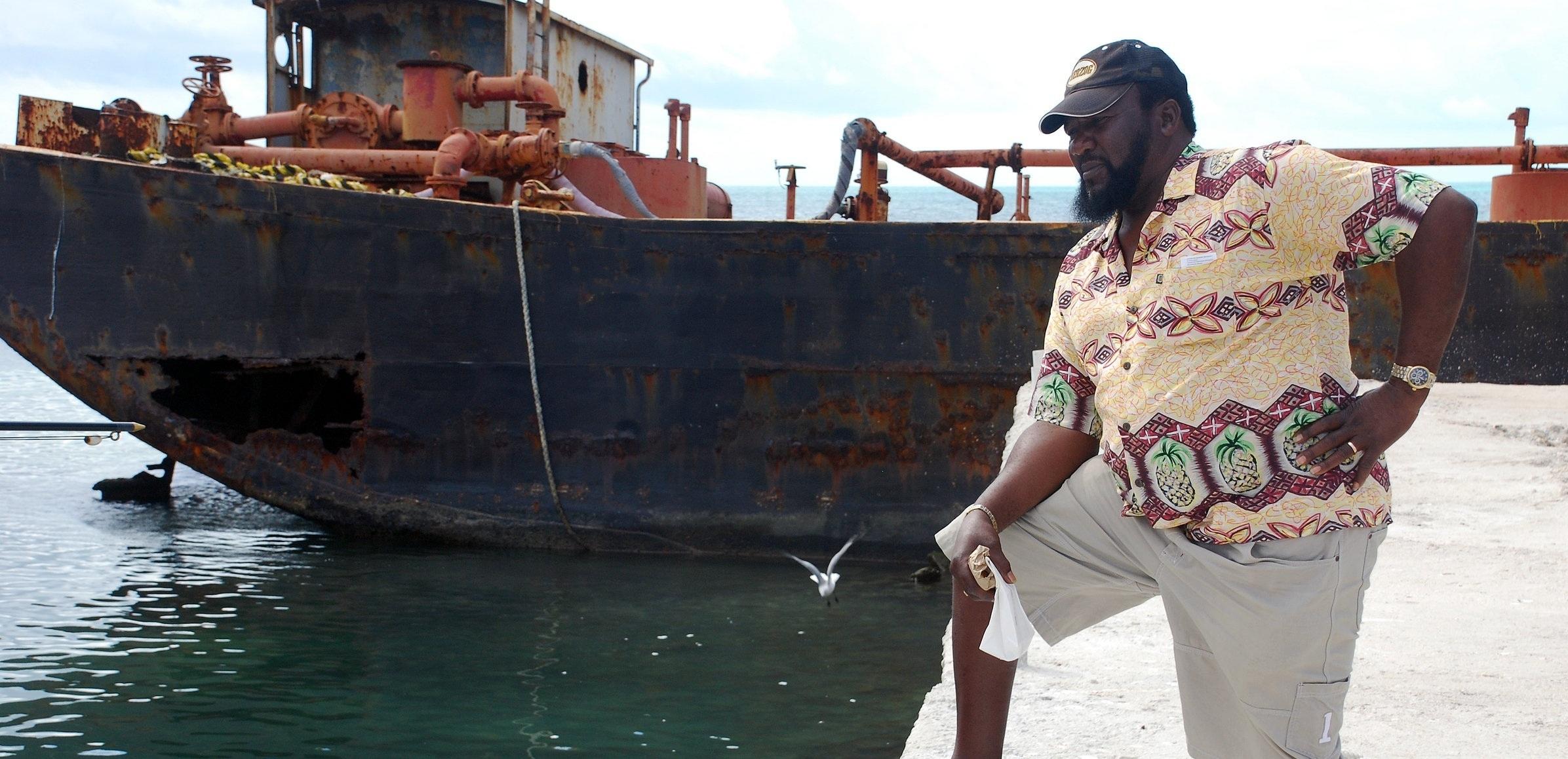 South Caicos-Locals-Man at Dock.jpg