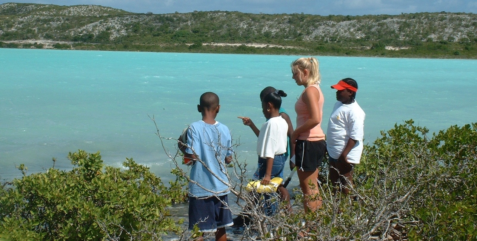 South Caicos-Locals-Kids Exploring.JPG