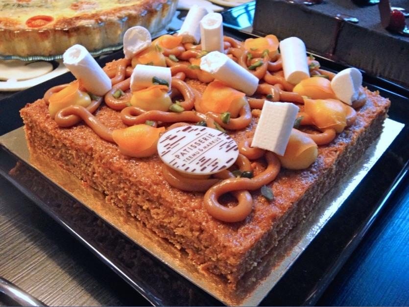 Patisserie Teemu & Markus porkkanakakku