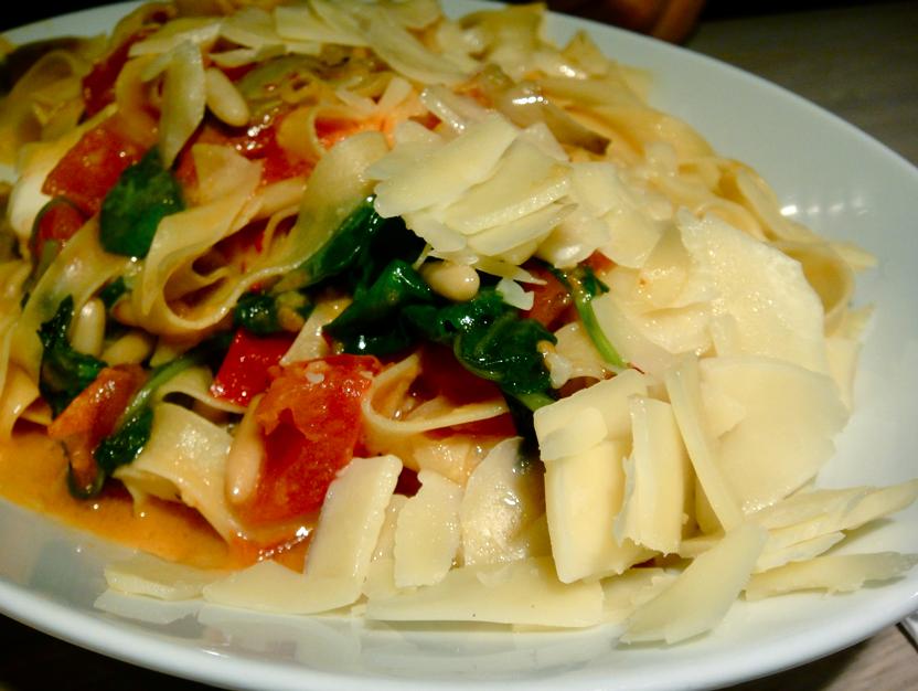 Verdure freshe -pasta
