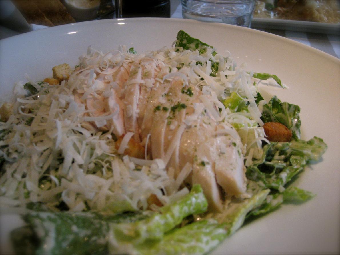 Pääruoka #2: Kana caesar salaatti