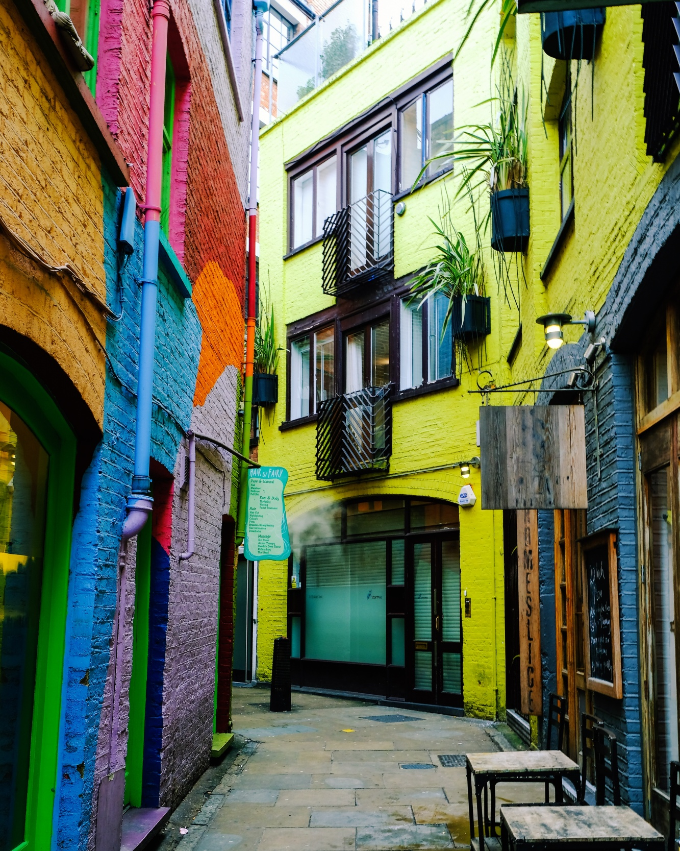 Neal's Yard | Ottolenghi | how to spend 24 hours in London by a Londoner