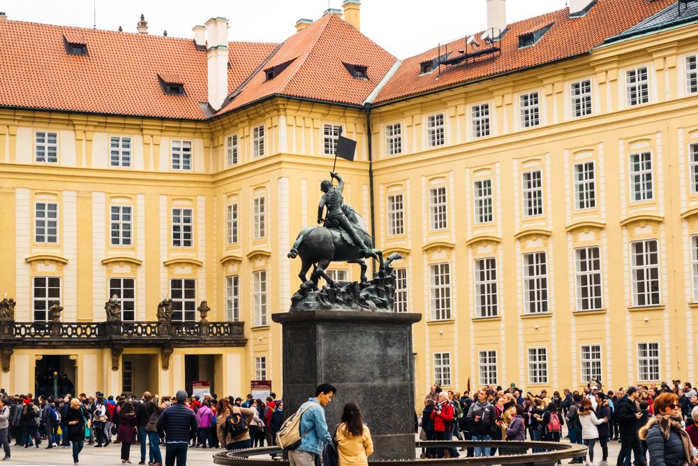 Square of St. George - Prague