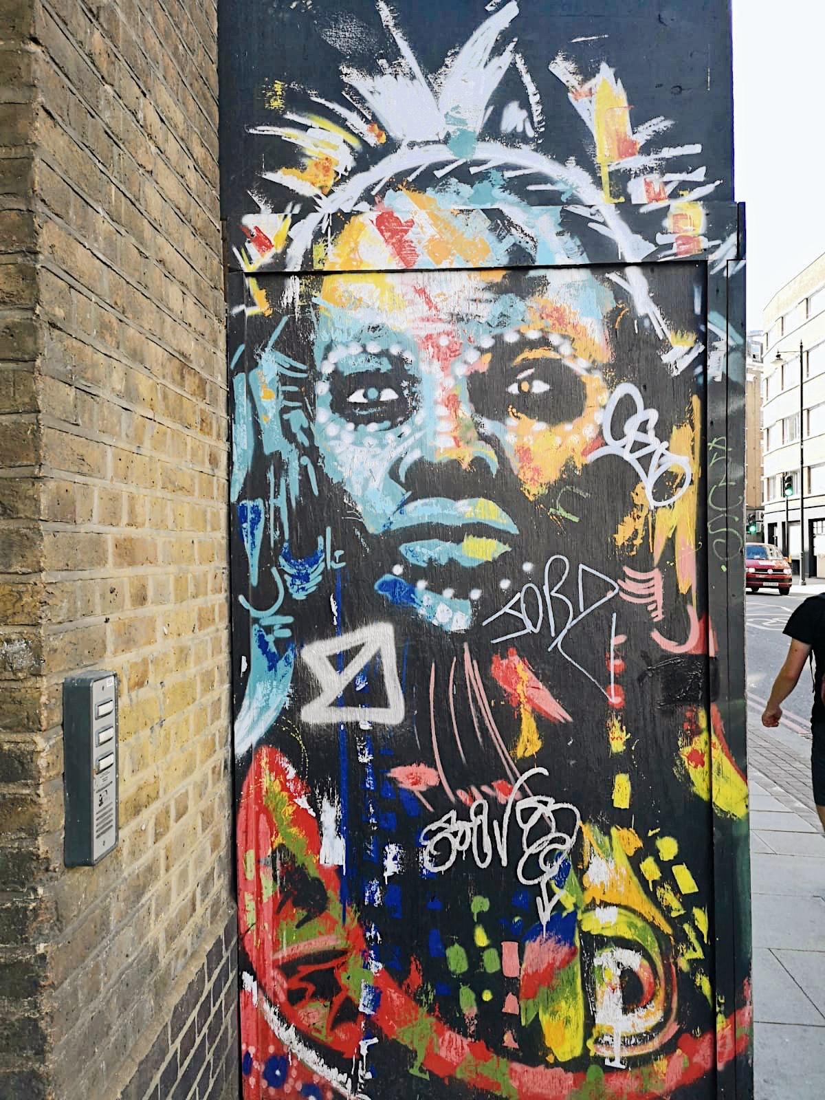 Shoreditch London Murals