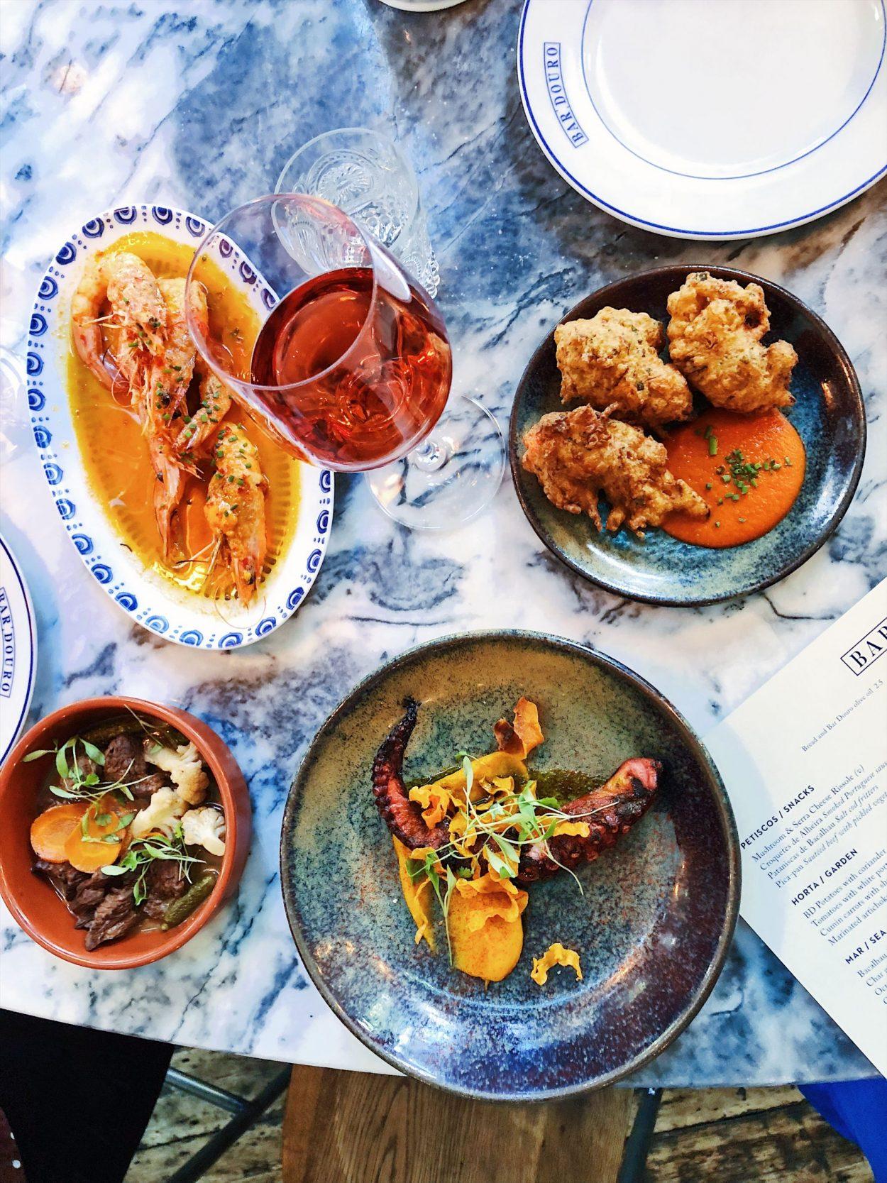 Bar Douro menu
