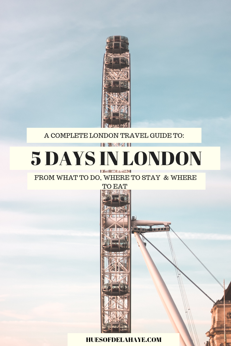 5 days in London itinerary for first-time visitors. In this 5 Day London travel guide I break down the best things to do in London including which iconic landmarks and museums to the coolest neighborhoods and where to to stay in London for first timer visitors. Read more if you want to guided by a Londoner on how to get the most from your first time visiting London #Londontravel #London #travel #travelguide #europetravel #europetraveltips #uk