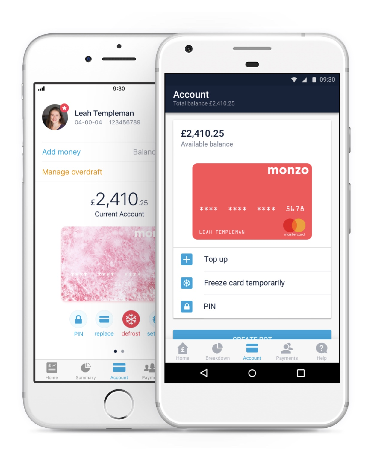 Using your Monzo card abroad