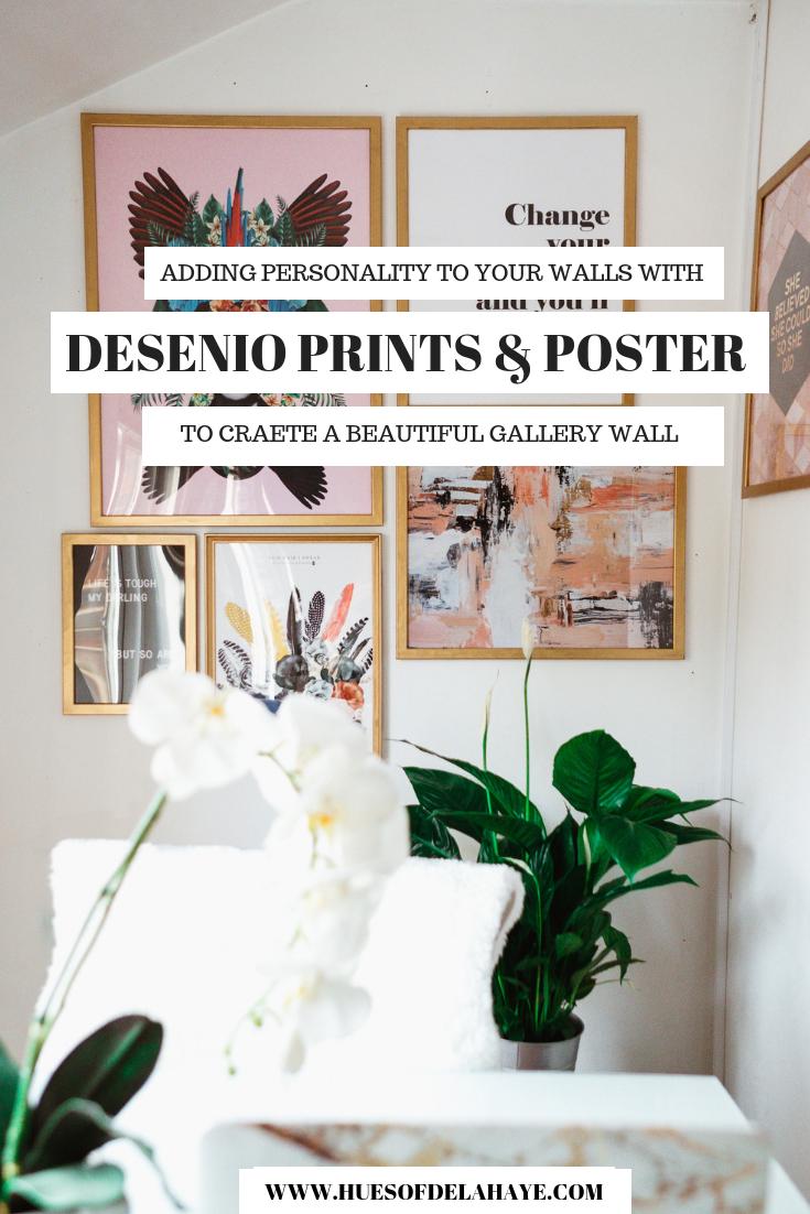 Desenio gallery wall - Desenio prints, Desenio posters