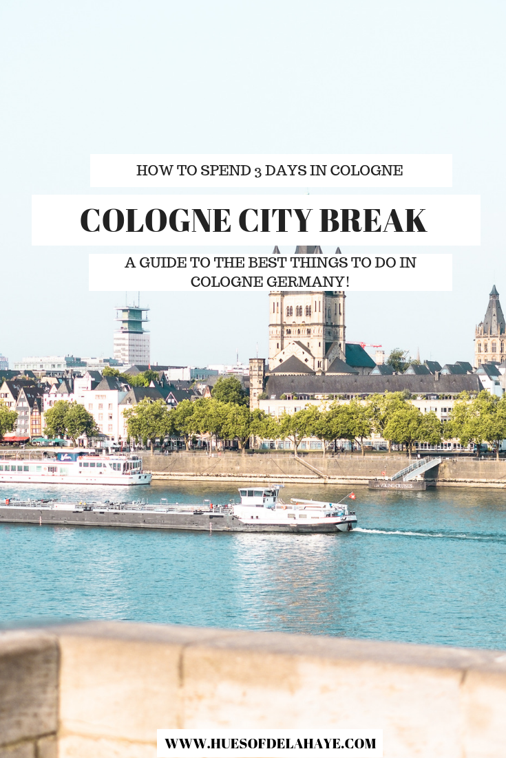 This Cologne city break guide, covers everything to do and see with 3 days in Cologne. From the best things to do in Cologne Germany, like visiting the famous chocolate museum to climbing the Cologne Cathedral and the best hotels in Cologne to stay. #colognegermany #cologne #germanytravel #europetravel #europetraveltips #travelblog #travelguide #travel2019