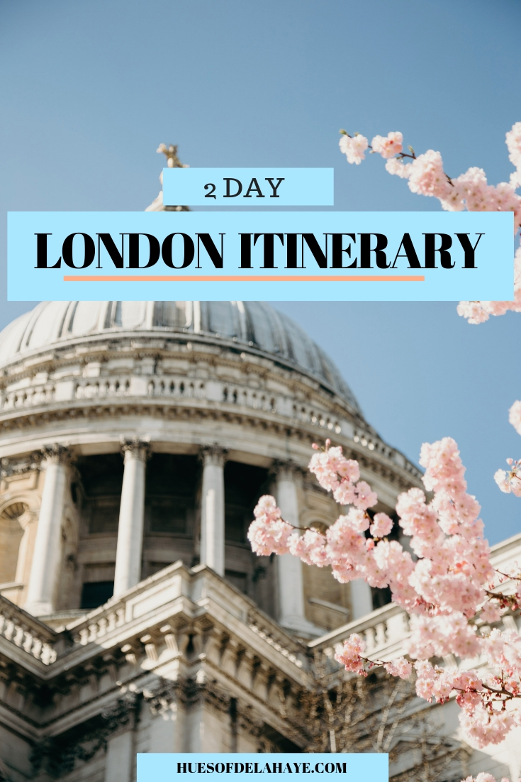 The perfect 2 days in london itinerary. I'll show you how to spend a weekend in London. In this 2 day London itinerary I list the best things to do in London, places see and where to eat while visiting London. How to spend 48 hours in London.