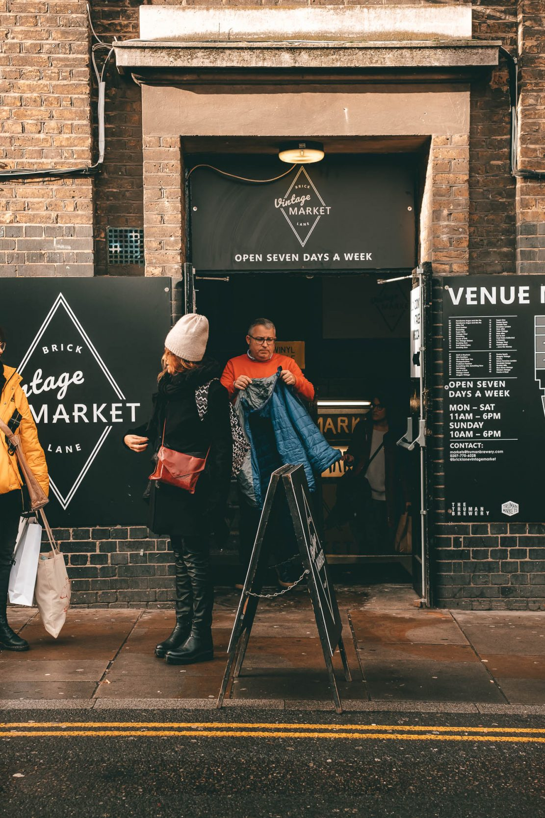 Brick Lane Vintage Market and Vintage Shops Things to do in Brick Lane London