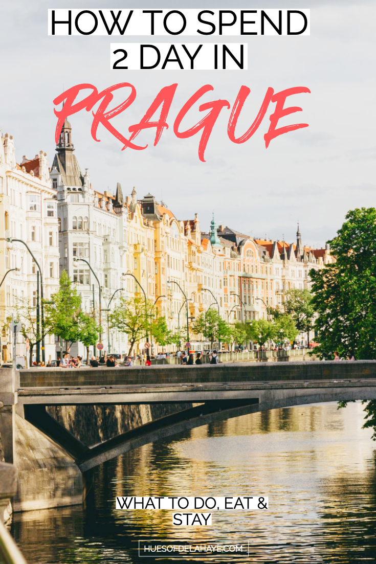 How to spend a weekend in Prague - 48 Hours in Prague Itinerary: The ultimate guide to Prague travel. I shows you how to spend 2 days in Prague, Czech Republic. From the things to do in Prague, where to stay, what to see, and where to eat and drink to get the most out of a weekend in Prague. Click through to find out #prague