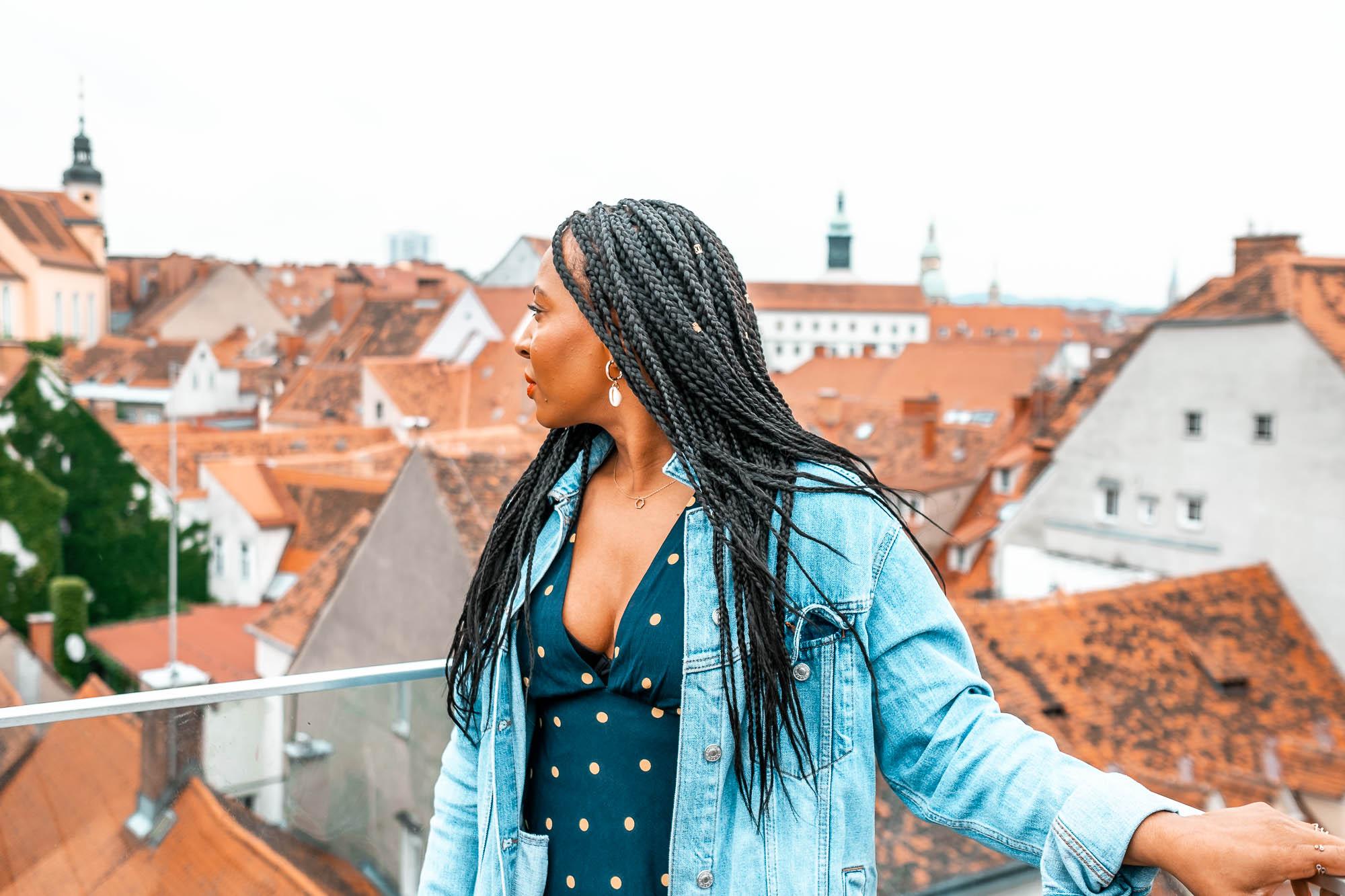 Things to don in Graz Views of Graz from Kastner & Ohler.jpg