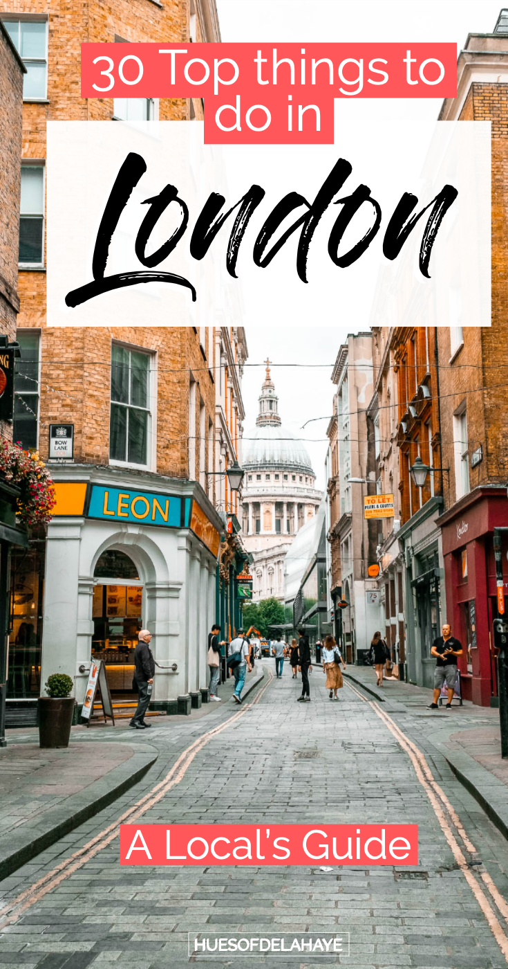 Top things to do in london England - This is filled all the bucket list things to do in London like best food markets, street art, free things to do in London to make this your best London trip. Its also jam packed with some great London travel tips for first time visitors to London. #londontraveltips #Londontravel