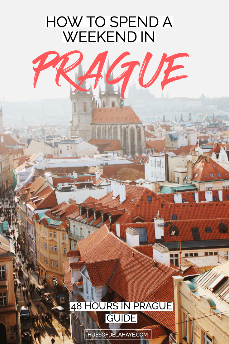How to spend a weekend in Prague - 48 Hours in Prague Itinerary: The ultimate guide to Prague travel. I shows you how to spend 2 days in Prague, Czech Republic. From the things to do in Prague, where to stay, what to see, and where to eat and drink to get the most out of a weekend in Prague. It also includes the best things to do in Prague. Click through to find out #prague
