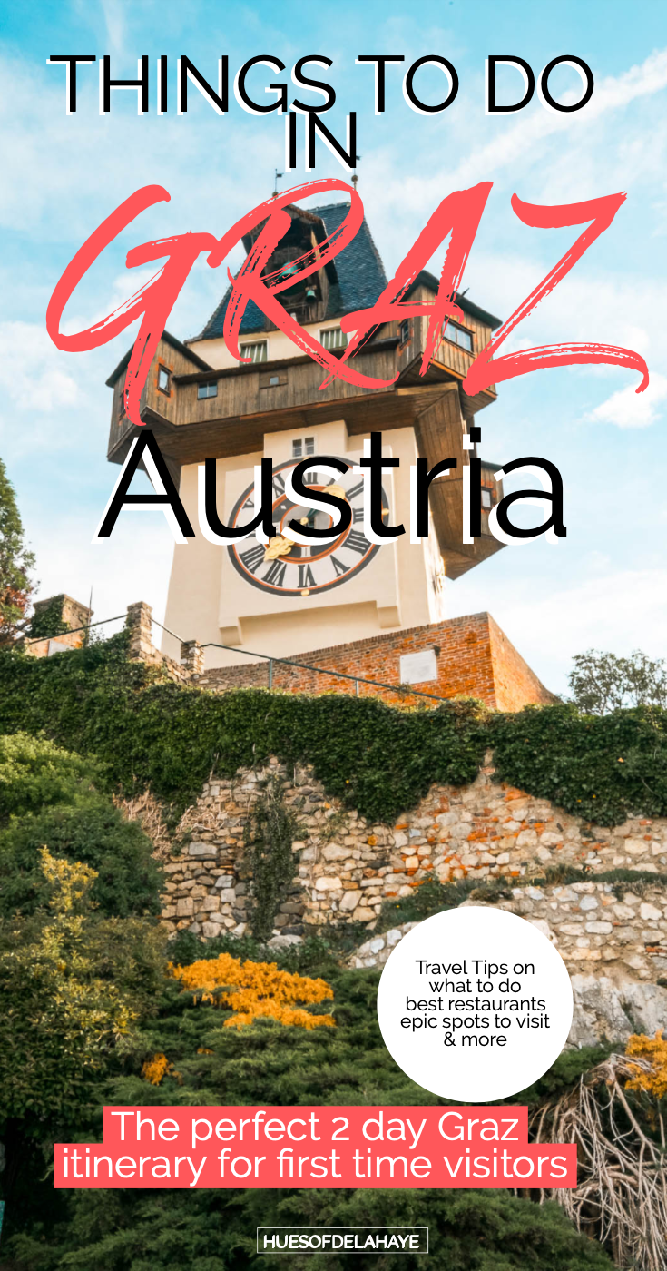 This post is filled with the best things to do in Graz Austria for first time visitors. With everything from what to see, best food markets, where to stay, cool photography spots, plus Graz travel tips and more. #GRAZ
