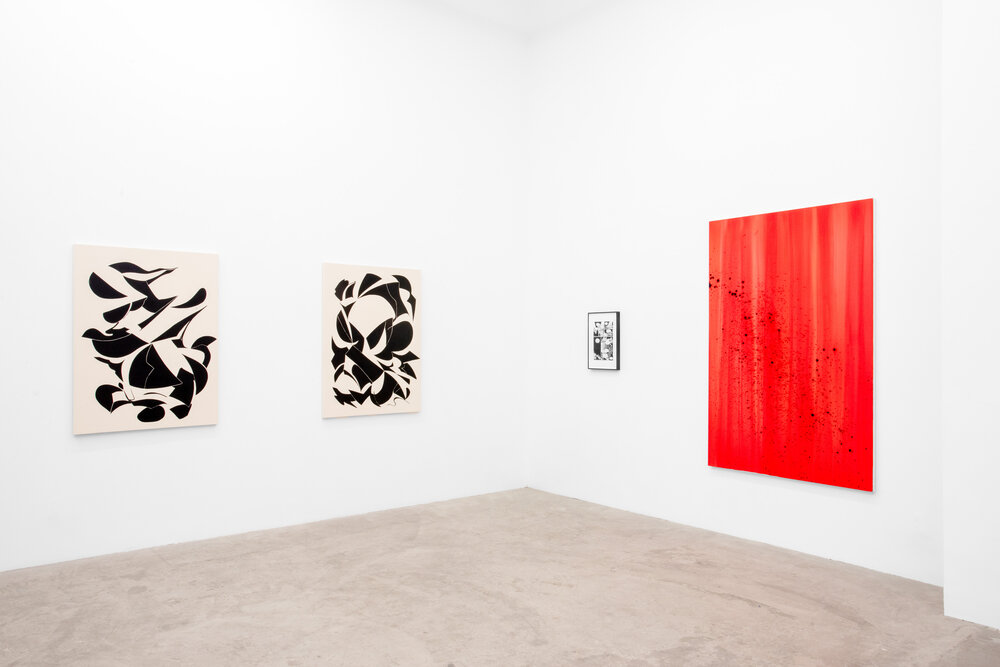 Shawn Kuruneru,  Emanata , 2020. Installation view: Cooper Cole Gallery.