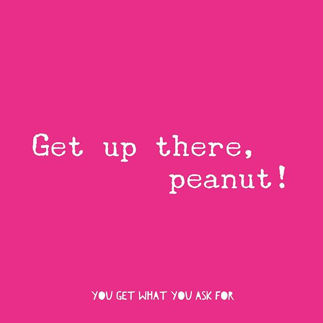 """My husband always says, """"get up there, peanut"""" and I find it so encouraging. He calls me peanut... because I'm wee! And I love him even though he's a liar 😂 when I'm about to go for a big opportunity, or when I'm about to take a risk... """"get up there, peanut!"""" If you needed to here this today, I hope you go for it!! . . . . . . #salarynegotiation #bestfriend #husbandoftheyear #powerhousewomen #generalassembly #selfadvocacy #motivation #businessgoals #likeaboss #bossbabe #motivationquotes #goforit #getitgirl"""
