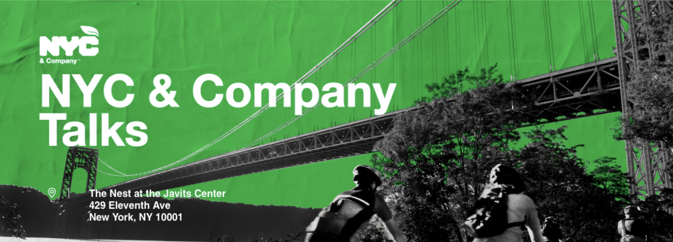 Join our friends, NYC & Co. - NYC & Company Talks: Building Sustainable Tourism Together will feature keynote speakers alongside three panels exploring the latest sustainability considerations for the hospitality industry.