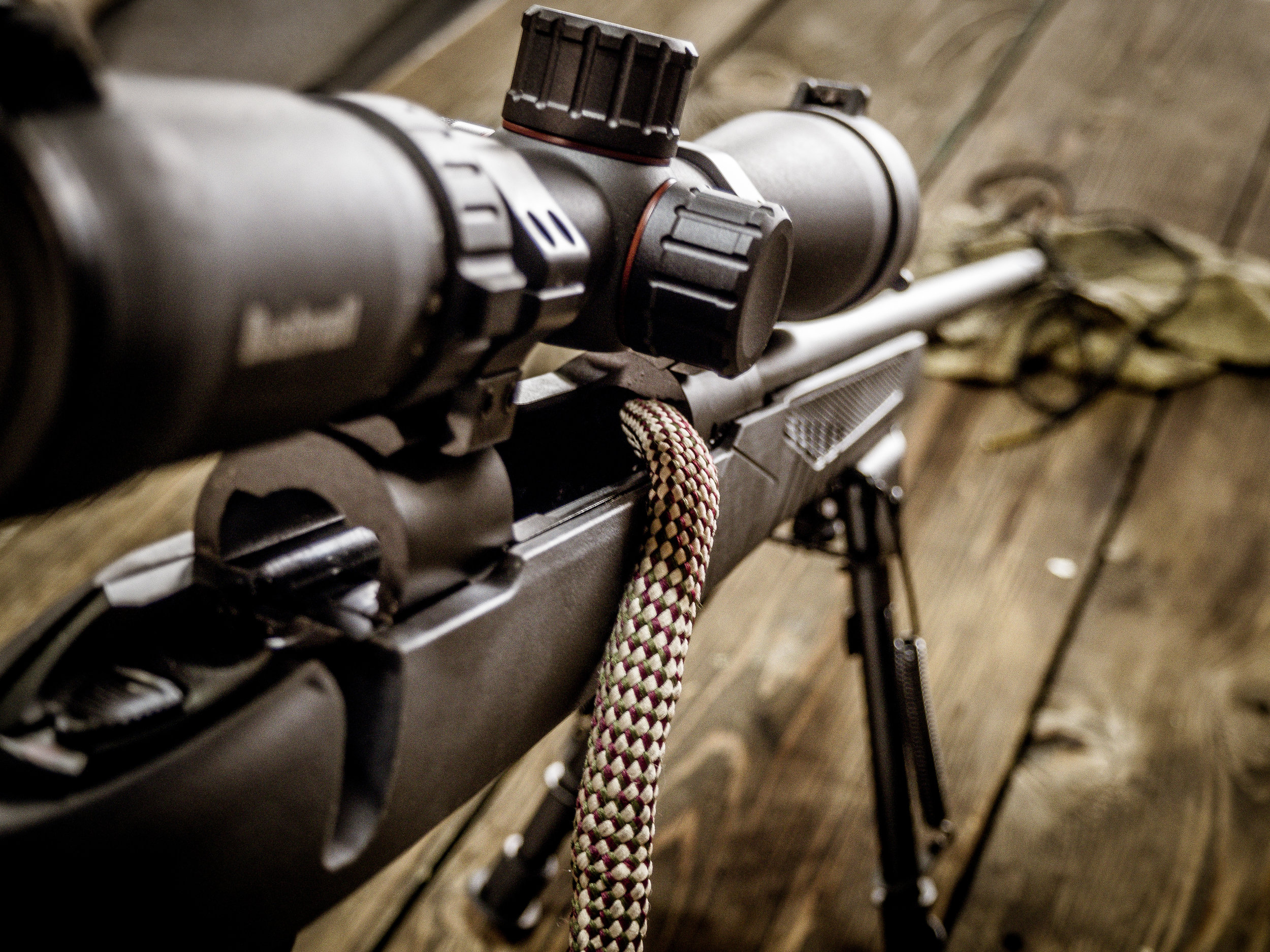 Notes on firearm maintenance during the hunting season, from an Army marksman. -