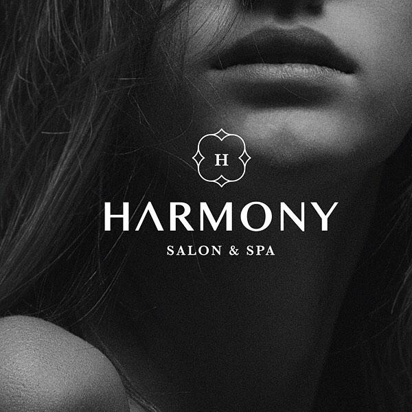 Logo mark for Harmony Salon & Spa. Elegant, modern, and clean design. #logo #charlottenc #graphicdesigner