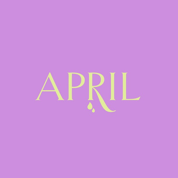 April showers bring May flowers....or as we had today, snow showers bring a nice spring-y May? Please?!⁣ ⁣ #typography #april #spring #femaleentrepreneur #charlottenc #steelecreek