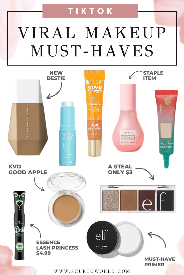 Tiktok Viral Makeup Must Haves