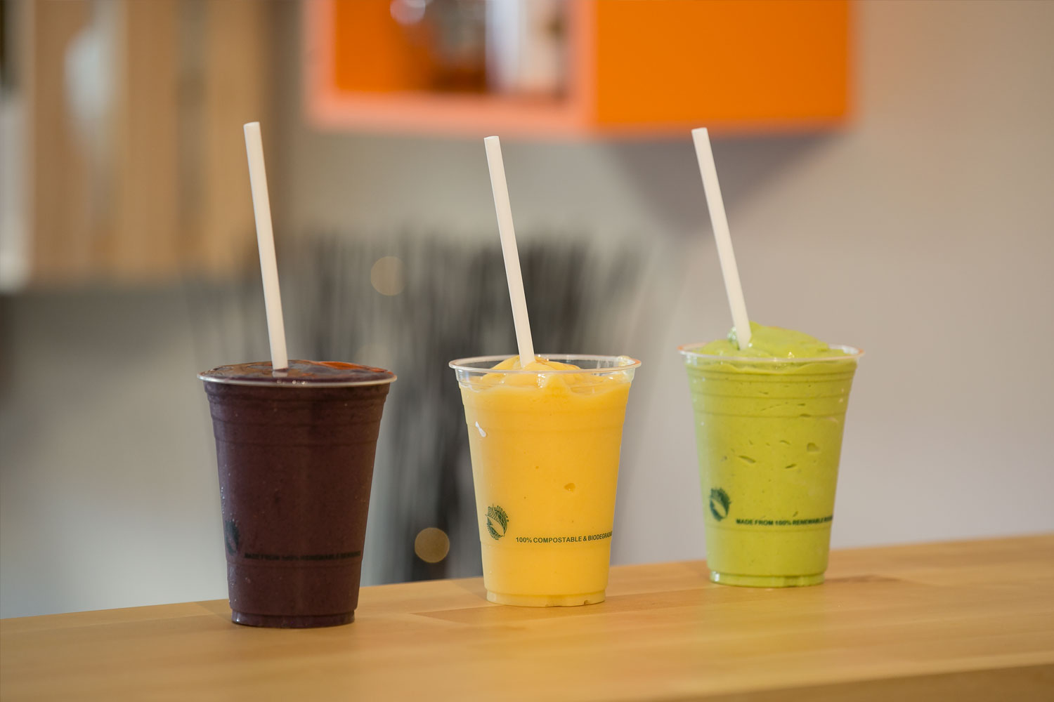 our Smoothie bar - Our smoothies are made from the best organic ingredients. Our customers return often to treat themselves to these nirvanic taste sensations.