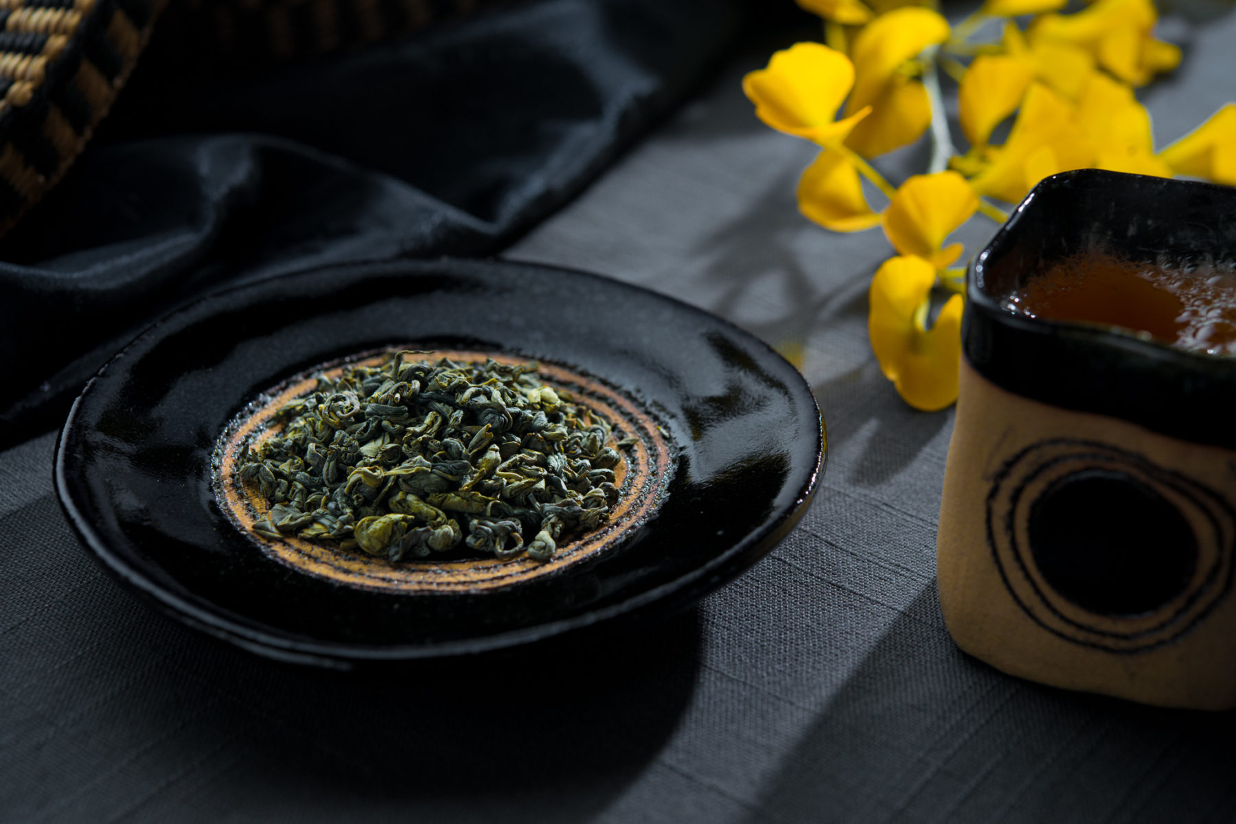 Gunpowder tea - from Westholme Teas