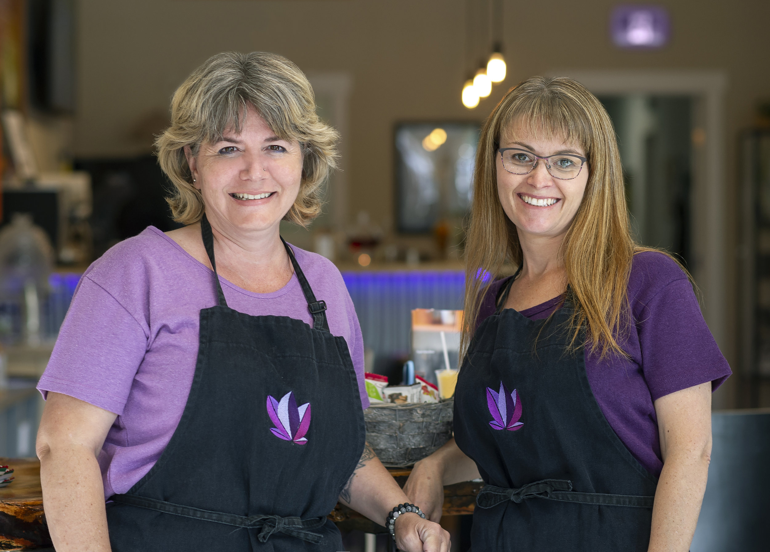 """- Our amazing staff will greet you as you enter our welcoming environment… not hard to imagine why we won Summerland's """"Best New Business Award"""".Each warmly invites you in to learn more about medical cannabis and to assist you as you browse our hemp products. They are also expert smoothie operators …."""