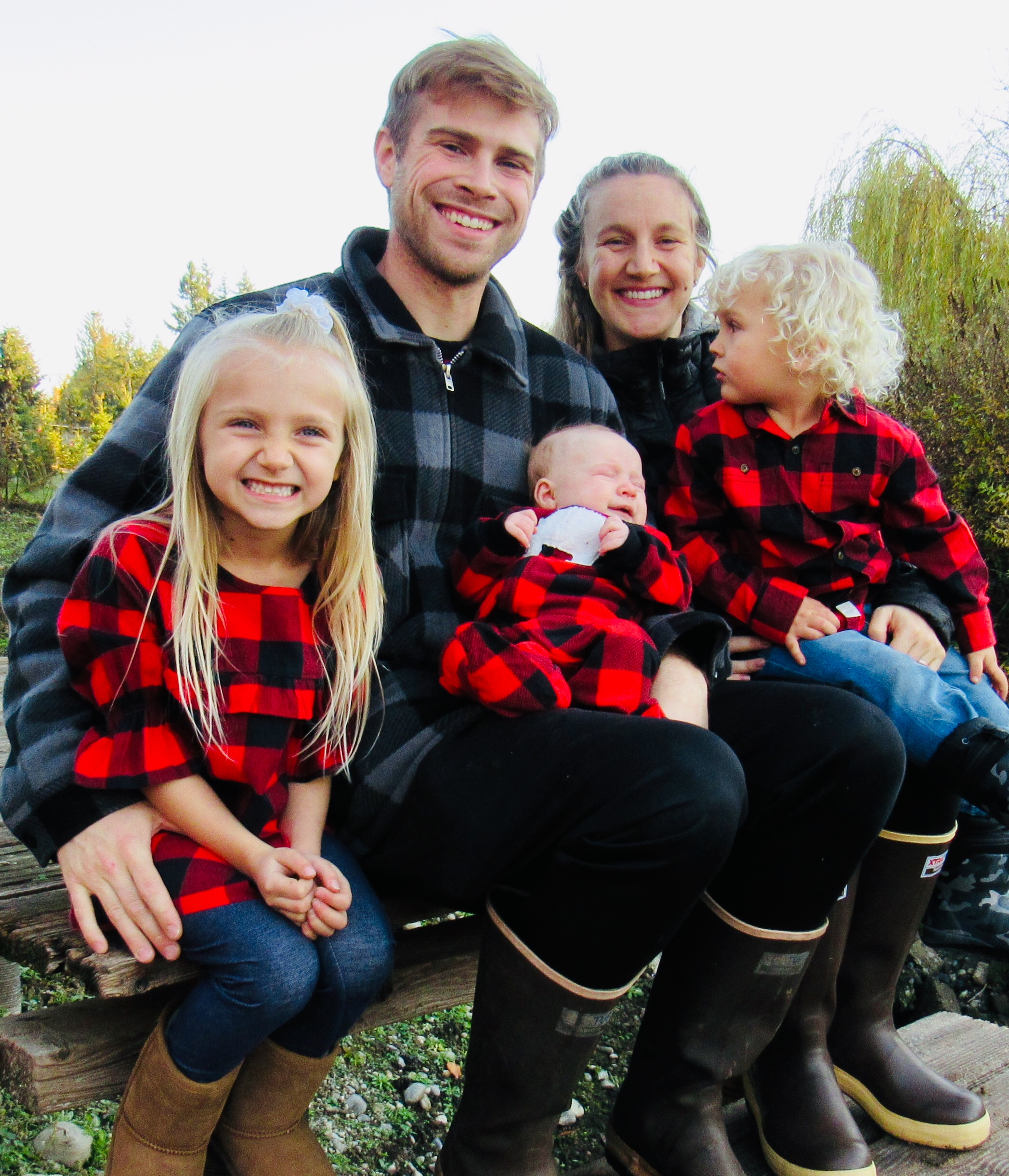 my family - In 2011 I married a stunningly beautiful woman who was way out of my league. Together we have three gorgeous children, enjoy adventures, and make our home in the Pacific Northwest.