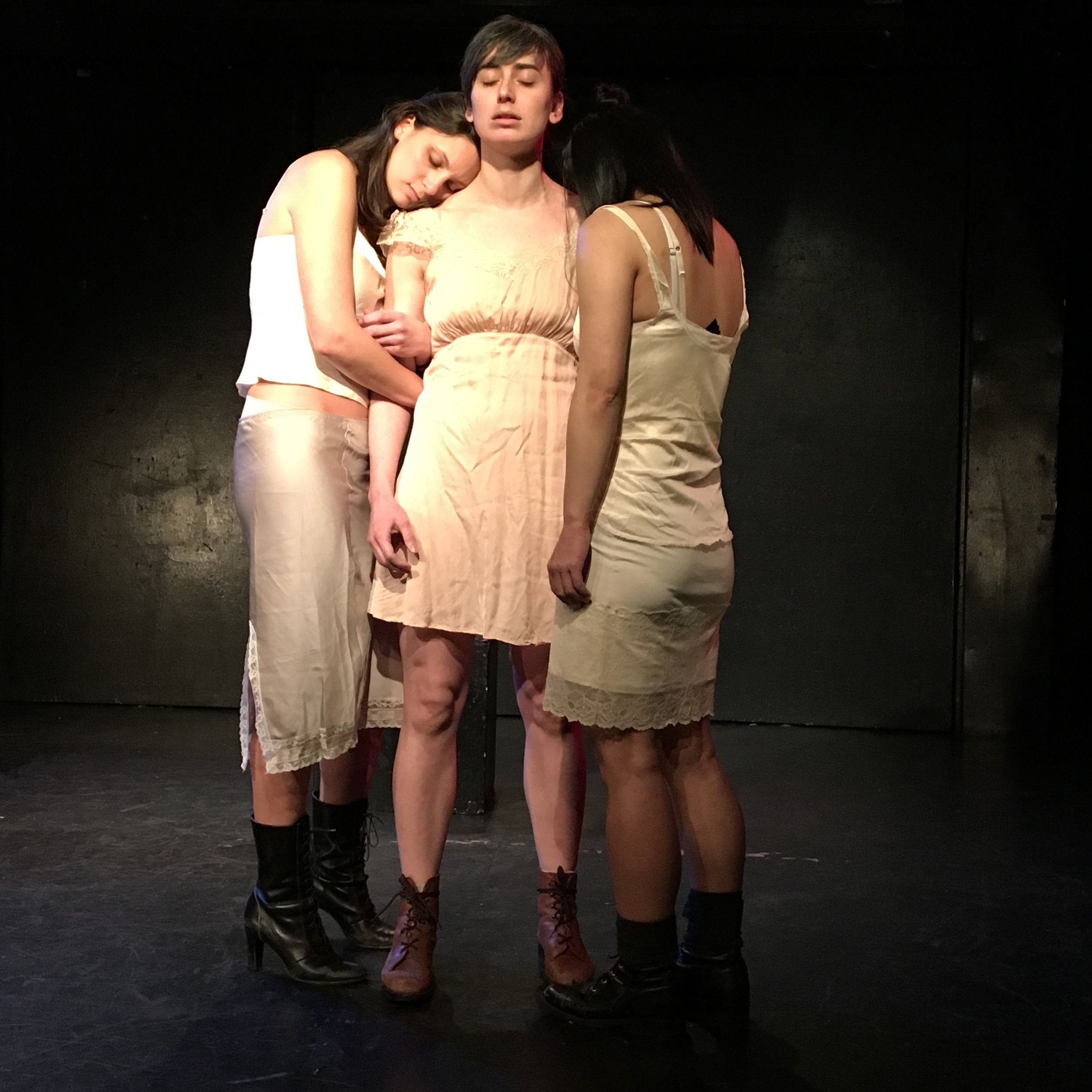 """Veronica Cooper, Kira Davies, and Christina Liang in """"Sublimis"""""""