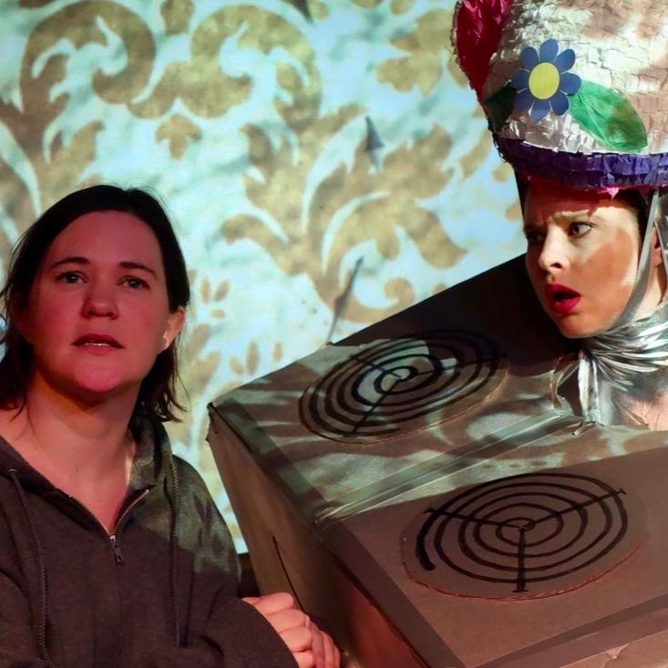 "Sarah Kinsey and Sarah Nedwek in ""Limbo"""